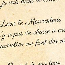 Poésie : Le Mercantour