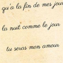 mini- poème