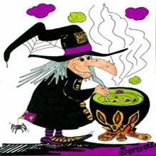 Halloween coloriages lire et apprendre activites manuelles dessins pour les enfants jeux - Jeux de sorciere potion magique gratuit ...