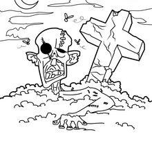 Zombie du cimetière