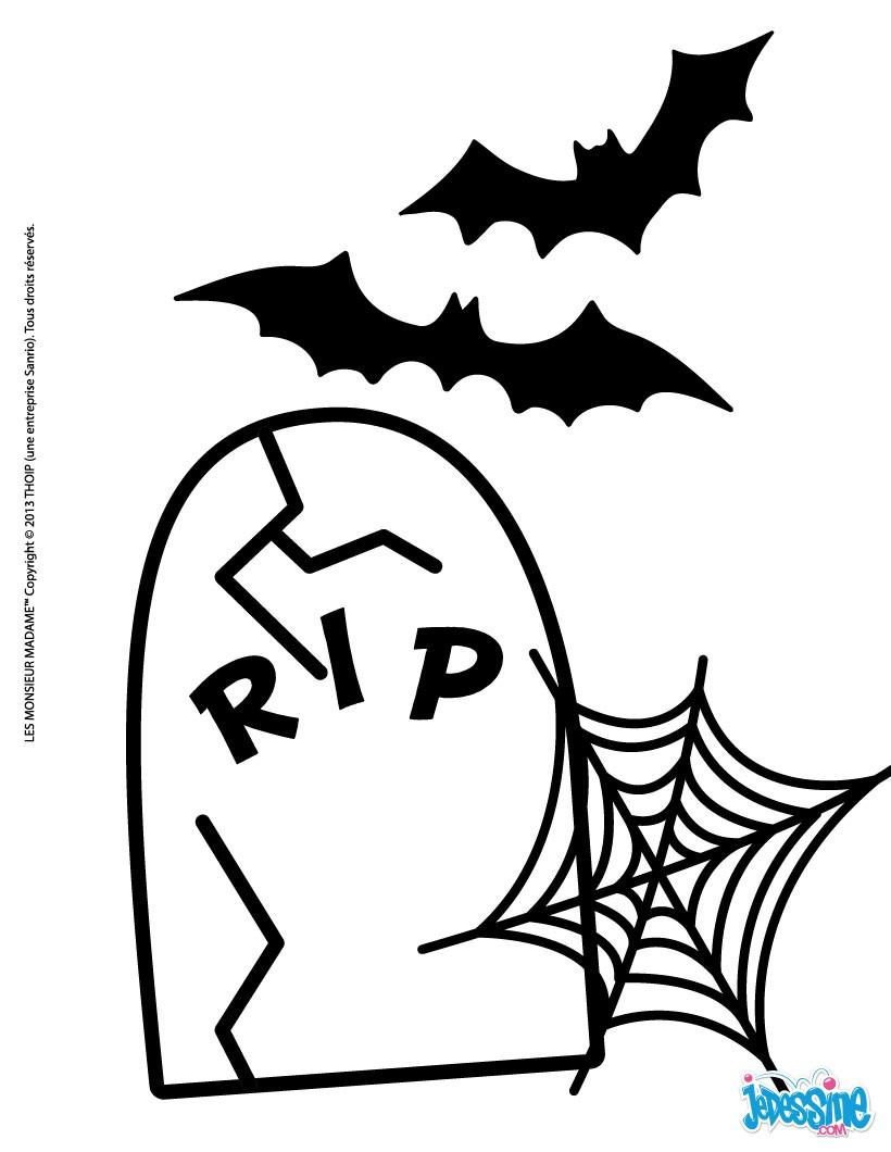 Chauve Souris Dessin Halloween.Coloriage Halloween Des Monsieur Madame Coloriages Coloriage A Imprimer Gratuit Fr Hellokids Com