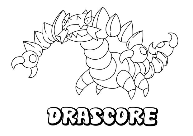 Coloriages drascore - Coloriage pokemon en ligne ...