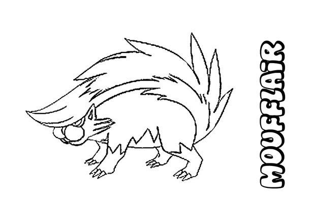 Coloriages moufflair - Coloriage pokemon en ligne ...