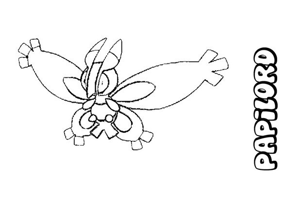 Coloriages papilord - Coloriage pokemon en ligne ...