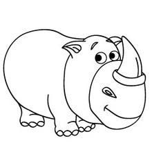 Dessiner des animaux un hippopotame - Dessin d hippopotame ...