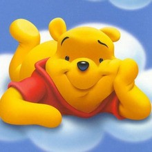 Disney, Coloriage WINNIE L'OURSON