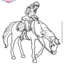Barbie championne d'équitation