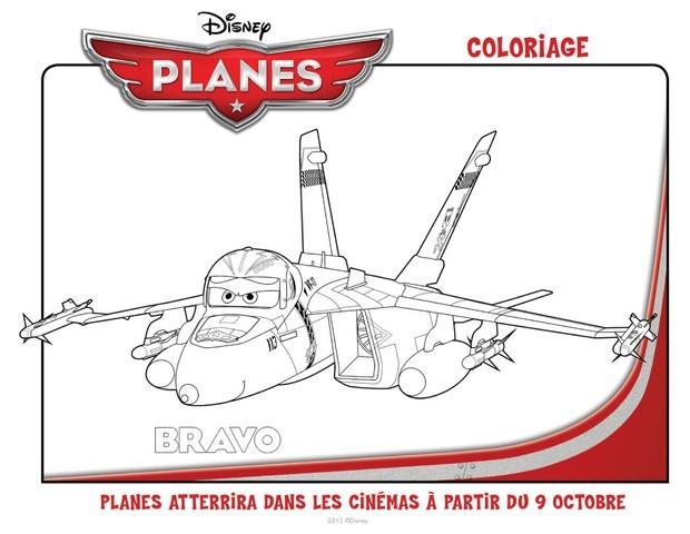 Coloriages planes bravo - Planes coloriage ...
