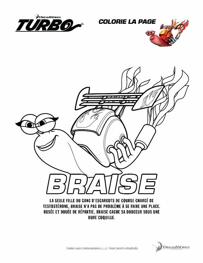 Coloriage BRAISE