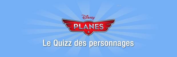 Les personnage de Planes (Pixar)