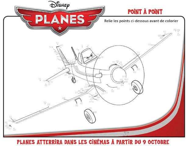 Coloriages planes point point - Points a relier gratuit ...