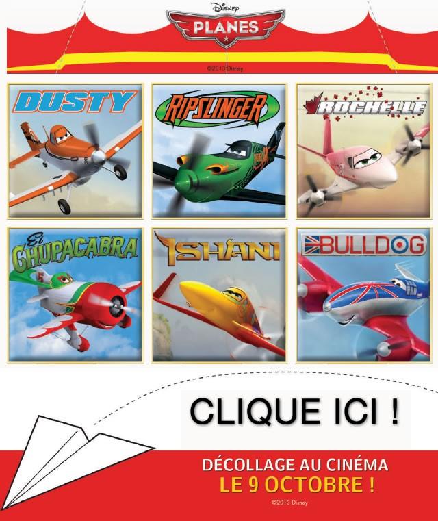 Des avions en papier PLANES