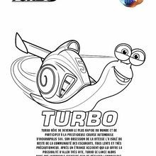 Coloriage : TURBO