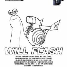 Coloriage : WILL-FLASH