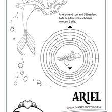 Labyrinthe de la petite sirène