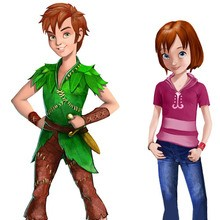 Coloriage PETER PAN