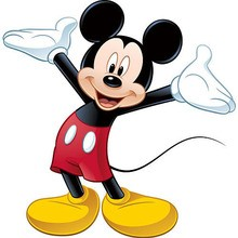 Coloriage MICKEY
