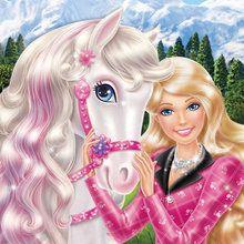 Cheval, Coloriages Barbie et ses soeurs au Club Hippique