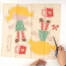 Fabriquer une poupée en tissu avec The Little Experience
