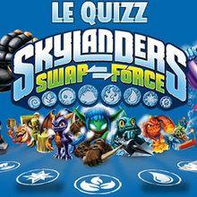 Quizz : Les personnages de Skylanders