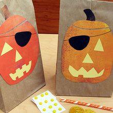 Le sac à butin Halloween de Jake