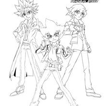 Groupe BEYBLADE 3 personnages