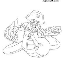 Coloriage : Pirate Orochi