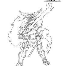 Coloriage : Samurai Ifrit