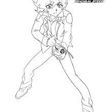Coloriage : Shinobu attaque