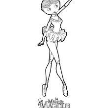 Coloriage : Clara la petite danseuse