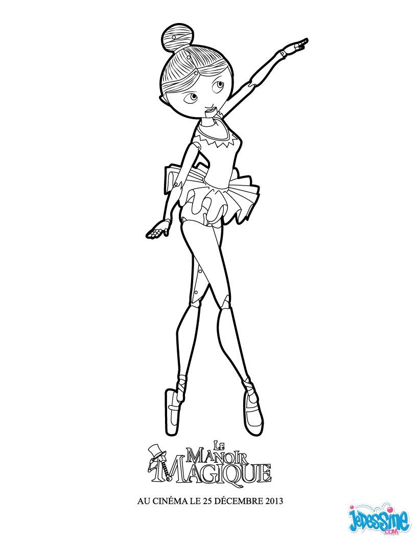 Coloriages clara la petite danseuse - Imprimer coloriage petite souris ...