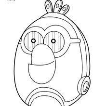 Coloriage : C3PO - Angry Birds Star Wars