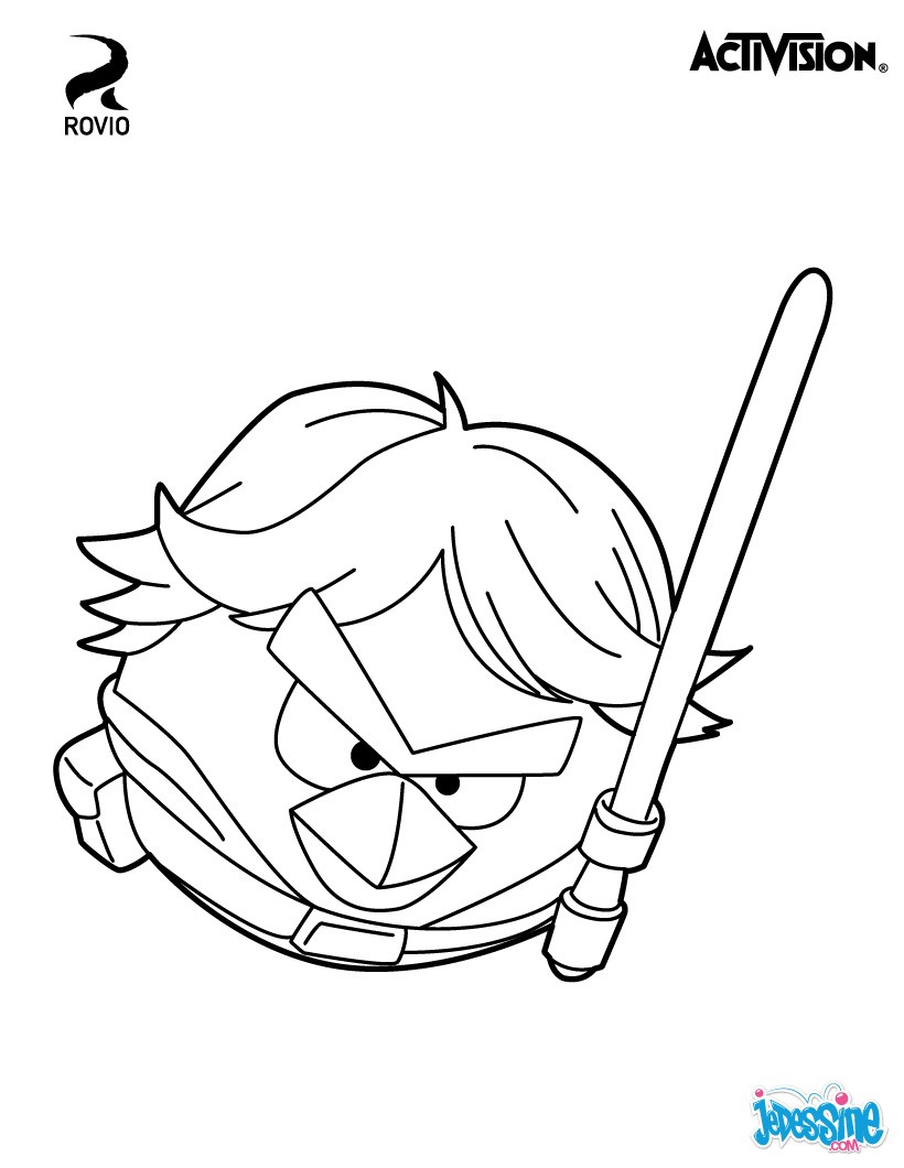 star wars luke skywalker - Coloriage En Ligne Star Wars