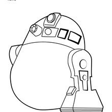 Coloriage : R2D2 - Angry Birds Star Wars