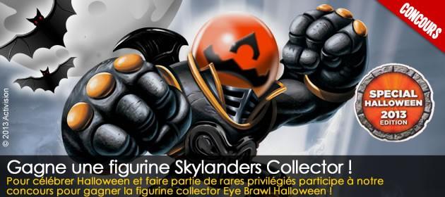 Gagne la figurine skylanders collector eye brawl halloween - Coloriage eye brawl ...