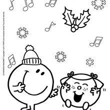 Madame risette souhaite un Joyeux Noel