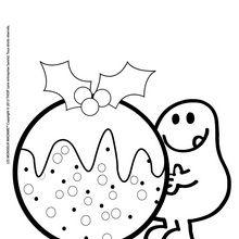 La boule de Noël de monsieur Glouton
