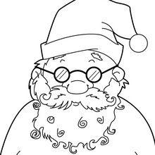 Visage du Père Noël