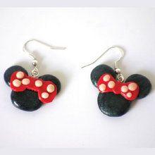 Idée cadeau de Noël : fabrique les boucles d'oreilles Minnie