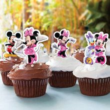 Les décorations de Cupcakes de Minnie