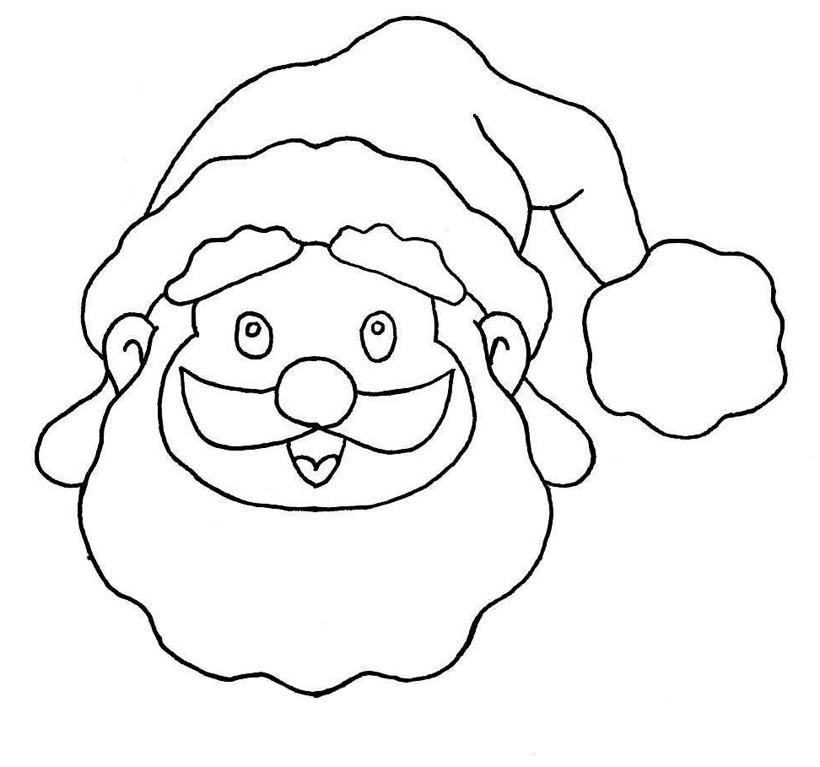 Activités Manuelles Faire Un Tableau Du Père Noël Fr