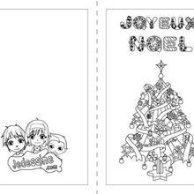 Voeux coloriages lire et apprendre actualit s dessins pour les enfants - Sapin de noel en espagnol ...