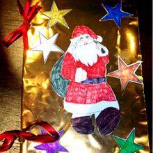 Fabriquer un cahier de chants de Noël