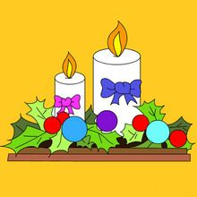 Coloriage no l 439 coloriages de no l for Decoration de noel dessin