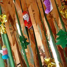 Fabriquer une guirlande de porte pour Noël