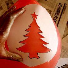 Les ballons de décoration pour Noël
