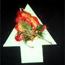 Pliage : la serviette en sapin de Noel