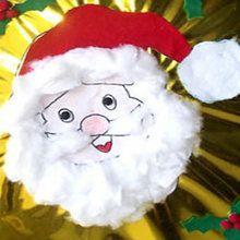 Faire un tableau du Père Noël