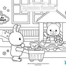 Coloriage : Au magasin de jouets