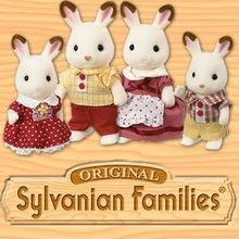 animaux, Coloriage SYLVANIAN FAMILIES